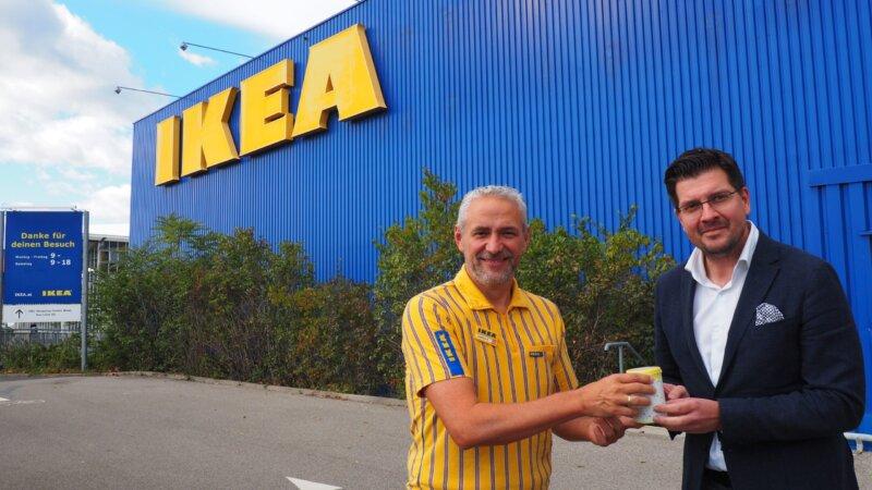 Spendenübergabe von IKEA Graz